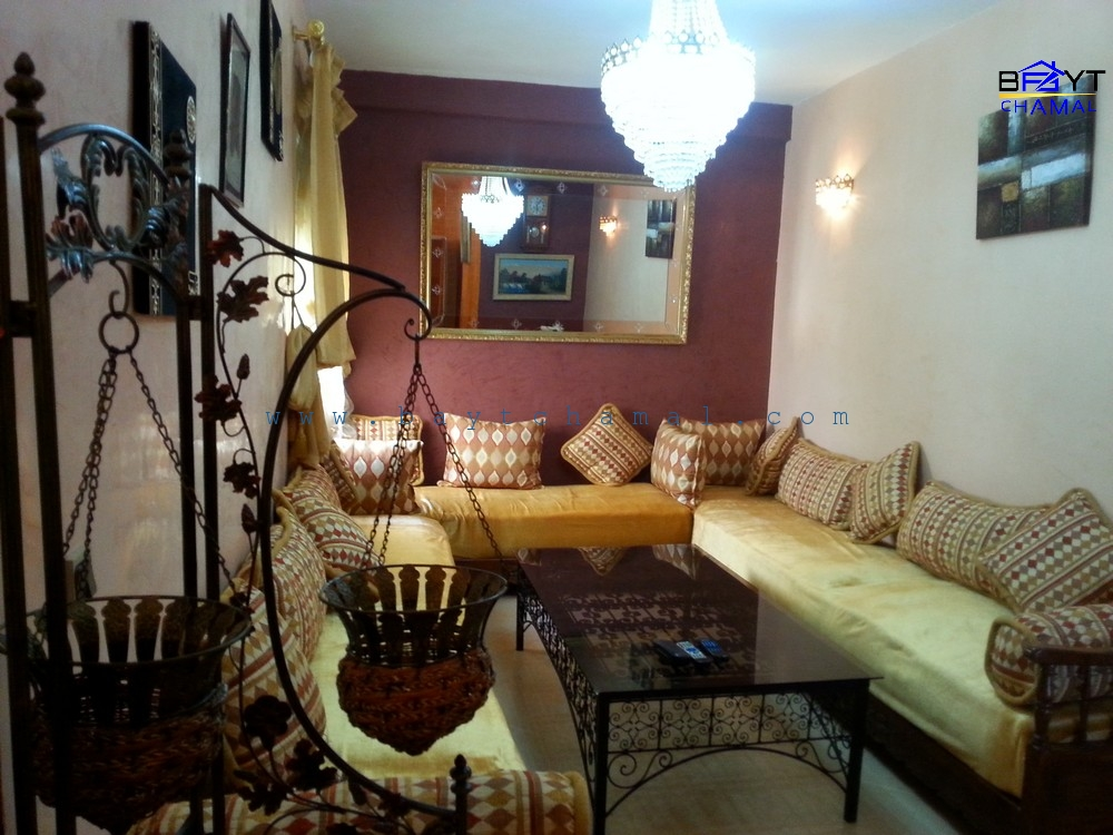 Location Appartement Meubl Prs Zone Franche Tanger  Bayt Chamal