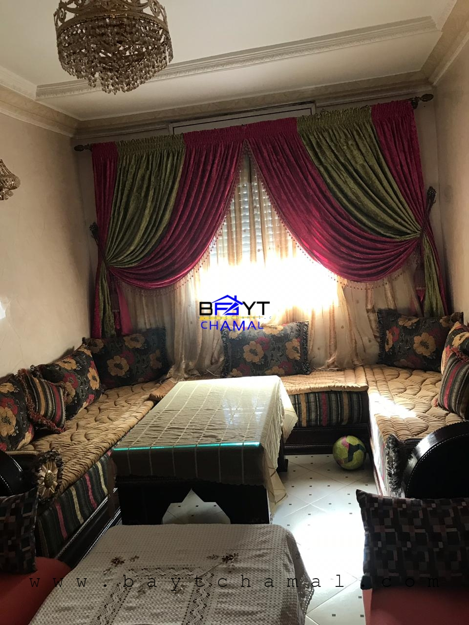 Location Appartement Meuble A Route De Rabat, Irfane 1, Tanger
